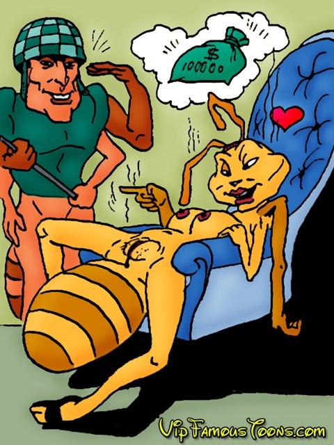 Princess Bala porn comix - insect in orgy! : Adult Comics Disney Princess