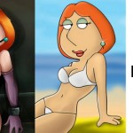 TV porn artworks - Lois tv toon slut! : Adult Cartoons