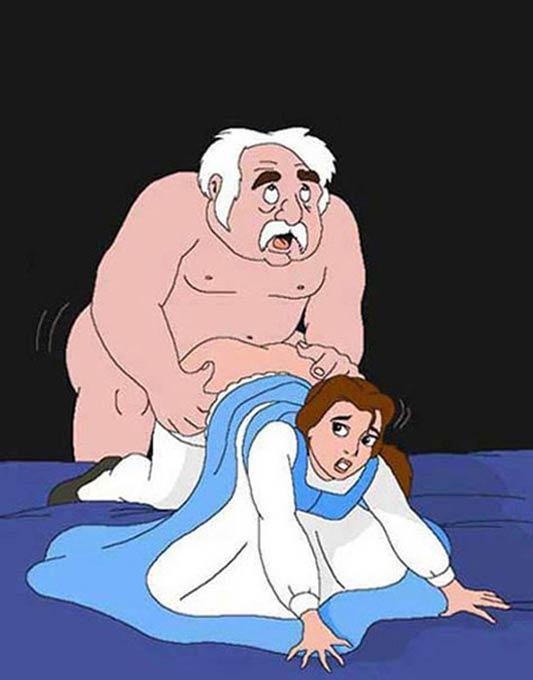 Belle porn comics