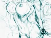 Lara Croft sexy artwork : Adult Cartoons