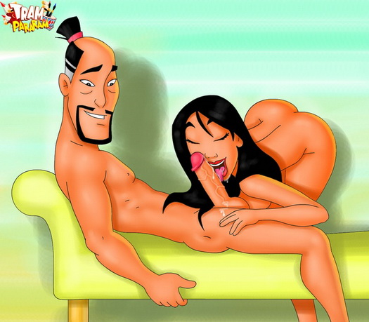 XXX scene of disney : Disney Princess Mulan