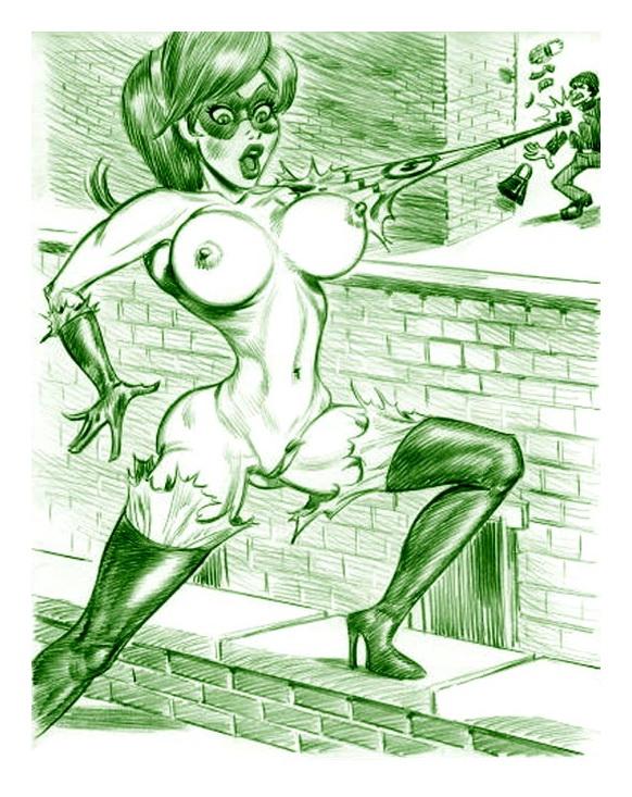 The Incredibles XXX : Elastigirl Porn